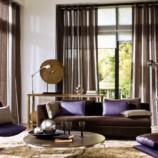 Vkusný a elegantný domov vďaka luxusným závesom