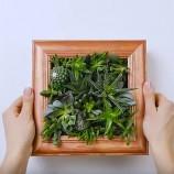 Návod na výrobu kvetinového rámika