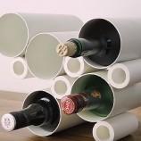 PVC stojan na víno – ako si ho vyrobiť?