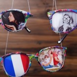 Využite okuliare na výrobu interiérových dekorácií