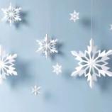 Návod na prípravu 5 typov papierových snehových vločiek